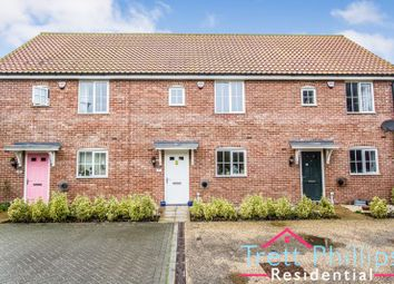 Thumbnail 3 bed terraced house for sale in Baileys Loke, Stalham, Norwich
