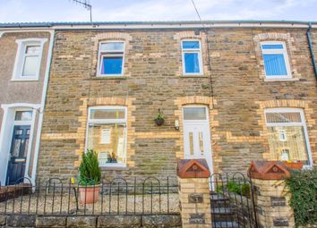 Thumbnail 3 bed terraced house for sale in North Avenue, Maesycwmmer, Hengoed