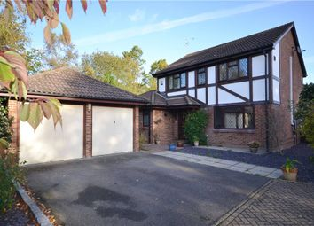 Thumbnail 4 bedroom detached house for sale in Badgers Copse, Camberley, Surrey