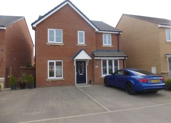 Thumbnail 4 bed detached house for sale in De Havilland Way, Hartlepool