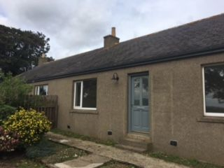 Thumbnail 2 bedroom semi-detached bungalow to rent in East Cottage Muirton Of Barra, Oldmeldrum, Inverurie