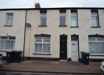 Thumbnail 3 bed terraced house to rent in Dewstow Street, Newport