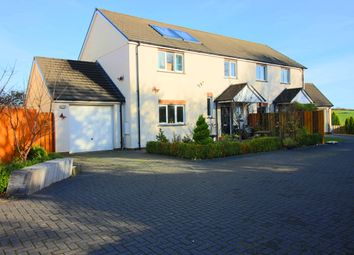 Thumbnail 4 bed semi-detached house for sale in Littlebridge Meadow, Bridgerule, Holsworthy