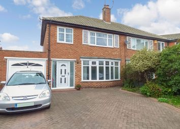 Thumbnail 3 bedroom semi-detached house for sale in Neasdon Crescent, North Shields