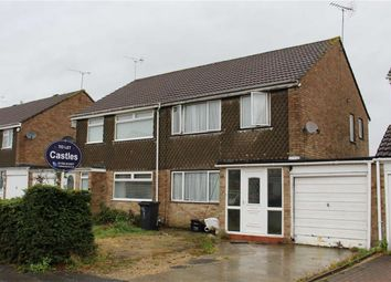 Thumbnail 3 bed terraced house to rent in Farrfield, Swindon