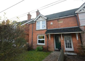 Thumbnail 2 bed semi-detached house to rent in Cove Road, Fleet