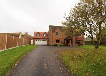 Thumbnail 4 bed detached house for sale in Scotterthorpe, Gainsborough