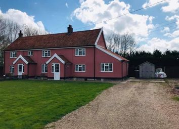 Thumbnail 3 bed semi-detached house to rent in Barric Lane, Occold, Eye, Suffolk