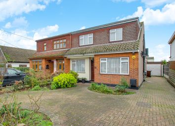 Thumbnail 4 bed semi-detached house for sale in Wavertree Road, Benfleet