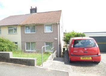 Thumbnail 3 bed semi-detached house for sale in Plymouth, Devon, United Kingdom