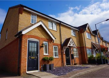 Thumbnail 3 bed end terrace house for sale in Davenport, Harlow