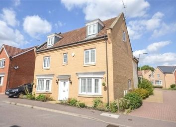 Thumbnail 5 bed detached house for sale in Little Canfield, Dunmow