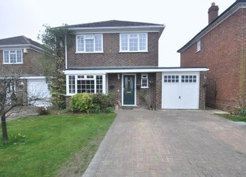 Thumbnail 4 bedroom detached house for sale in Gilbard Court, Chineham, Basingstoke