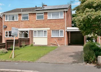 Thumbnail 3 bed semi-detached house for sale in Burwell Drive, Witney