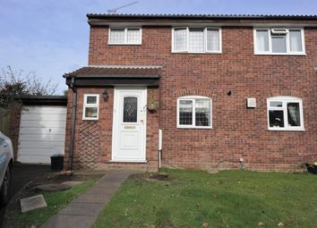 Thumbnail 3 bed semi-detached house to rent in Derwent Close, Wokingham, Berkshire