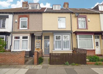 Thumbnail 3 bedroom terraced house for sale in South View Terrace, North Ormesby, Middlesbrough