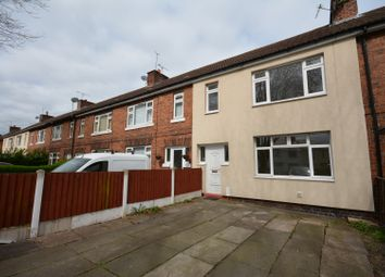 Thumbnail 3 bedroom terraced house to rent in Kettell Avenue, Crewe