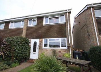 Thumbnail 3 bed end terrace house for sale in Villette Close, Christchurch, Dorset