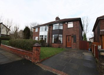 Thumbnail 3 bed semi-detached house to rent in Hawthorn Avenue, Brandlesholme, Bury
