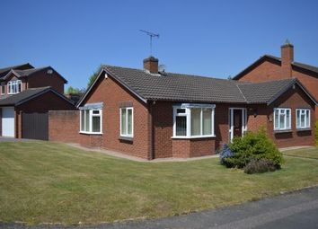 Thumbnail 3 bed bungalow for sale in Willowsmere Drive, Lichfield, Staffordshire