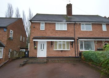 Thumbnail 2 bedroom terraced house to rent in Ormscliffe Road, Rednal, Birmingham