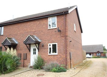 Thumbnail 3 bed semi-detached house for sale in Norwich Road, Claydon, Ipswich, Suffolk
