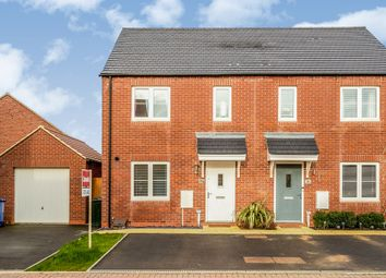 Thumbnail 3 bed semi-detached house for sale in The Old Wood Yard, Rope Way, Hook Norton, Banbury