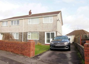 Thumbnail 3 bed semi-detached house for sale in Llwynderw, Swansea