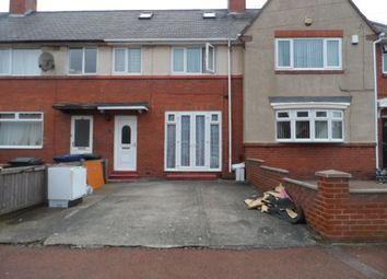 Thumbnail 3 bedroom terraced house for sale in Weldon Crescent, High Heaton, Newcastle Upon Tyne