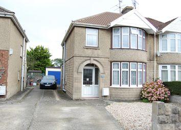 Thumbnail 3 bedroom semi-detached house for sale in Churchward Avenue, Swindon