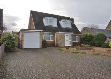 Thumbnail 4 bed detached house for sale in Caistor Road, Gretton, Corby