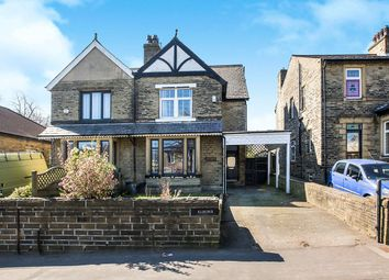 Thumbnail 4 bed semi-detached house for sale in Keighley Road, Halifax, West Yorkshire