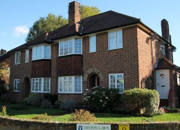 Thumbnail 2 bed maisonette to rent in Ditton Lawn, Portsmouth Road, Thames Ditton