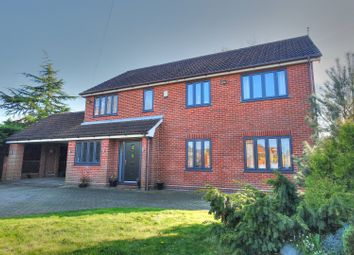 Thumbnail 4 bed detached house for sale in Church Lane, Norwich