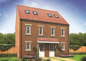 "Thumbnail 3 bed end terrace house for sale in ""The Moseley"" at Neath Road, Landore, Swansea"