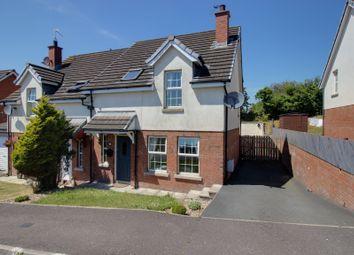 Thumbnail 3 bed semi-detached house for sale in Larksborough Avenue, Newtownards