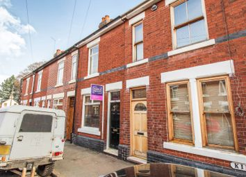 Thumbnail 2 bedroom terraced house for sale in Kirk Street, Chester Green, Derby