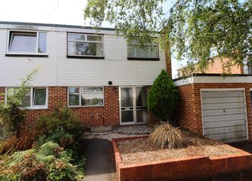 Thumbnail 4 bed semi-detached house for sale in Irwell Close, Basingstoke