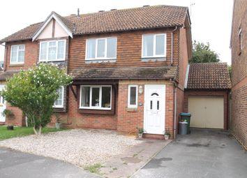 Thumbnail 3 bed semi-detached house for sale in Buttermere Way, Beaumont Park, Littlehampton, West Sussex