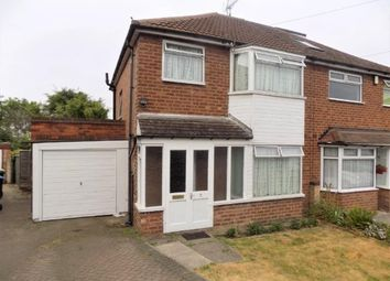 Thumbnail 3 bed semi-detached house for sale in Valerie Grove, Great Barr, Birmingham