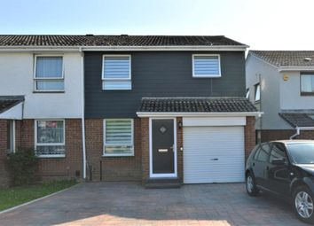 Thumbnail 4 bed semi-detached house for sale in Brimhill Close, Plympton, Plymouth