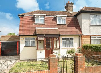 Thumbnail 3 bedroom end terrace house for sale in Chapman Road, Croydon