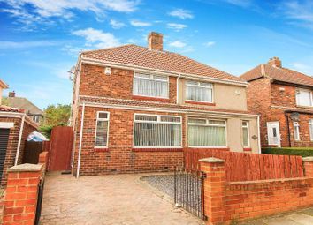 Thumbnail 2 bed semi-detached house for sale in Exeter Road, Wallsend