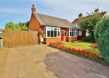 Thumbnail 2 bed detached bungalow for sale in Avenue Road, Queniborough, Leicestershire
