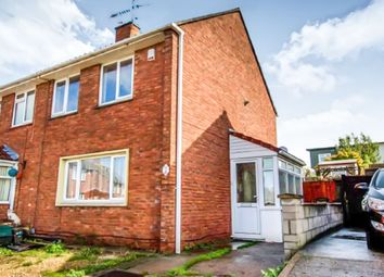 Thumbnail 2 bed semi-detached house for sale in Nash Drive, Bristol