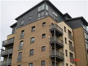 Thumbnail 2 bed flat to rent in Hawkhill Close, Easter Road, Edinburgh