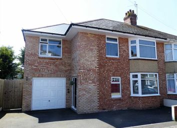 Thumbnail 4 bed semi-detached house for sale in Court Road, Weymouth, Dorset