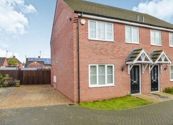 Thumbnail 3 bed semi-detached house for sale in Hermitage Close, Wisbech