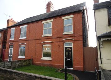 Thumbnail 3 bed semi-detached house to rent in Wrexham Road, Whitchurch, Shropshire