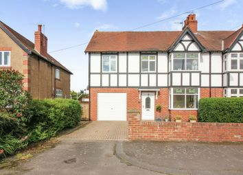 Thumbnail 4 bed semi-detached house for sale in North Road, Ponteland, Newcastle Upon Tyne